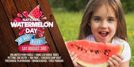 National Watermelon Day At Davie Ranch