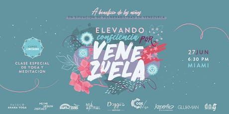 MIAMI- Clase presencial especial de yoga y meditación: Elevando consciencia por Venezuela #27Junio 6:30 PM (MIAMI) tickets