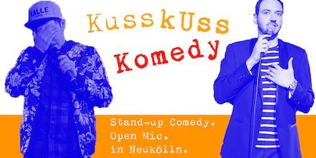 Stand-up Comedy: KussKuss Komedy am 19. Juni Tickets