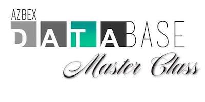 BEX Database Master Class - WEBINAR (ONLINE ONLY)