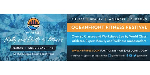 NY FIT FEST OCEANFRONT FITNESS AND WELLNESS FESTIVAL