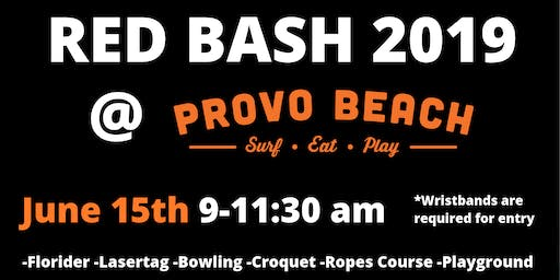 RED BASH at Provo Beach Resort Hosted by The Clyde Group at  Keller Williams!
