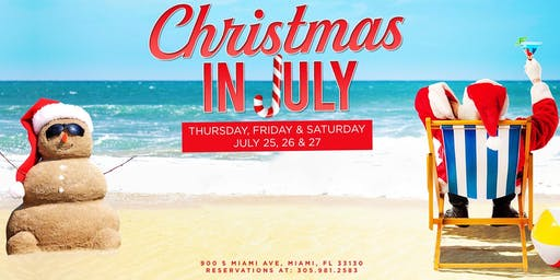 Blue Christmas In July