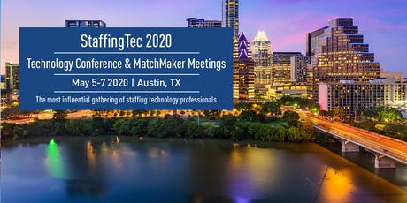 StaffingTec 2020 – May 5-7 tickets