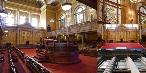Inside Shearith Israel Synagogue and the Louis C. Tiffany Glass Sanctuary