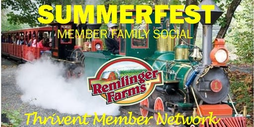 Summerfest - Thrivent Day at Remlinger Farms! (Carnation)