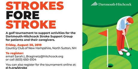"Strokes ""Fore"" Stroke Golf Tournament tickets"