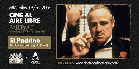 Cine al Aire Libre: EL PADRINO (1972) - Miercoles 19/6 entradas