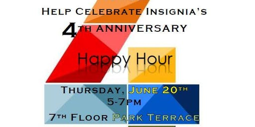 Insignia 4th Anniversary Happy Hour