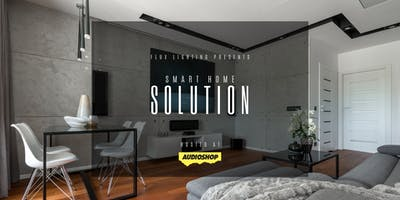 """Smart Home Solution\"" by Flux Lighting & Audioshop"