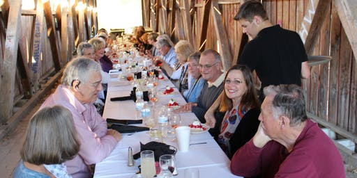 Covered Bridge Dinner - October 17th