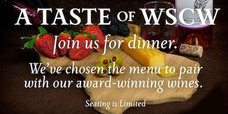 A Taste of WSCW tickets