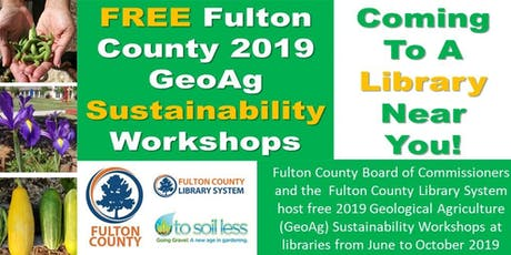 GeoAg Fulton County - Palmetto Library tickets