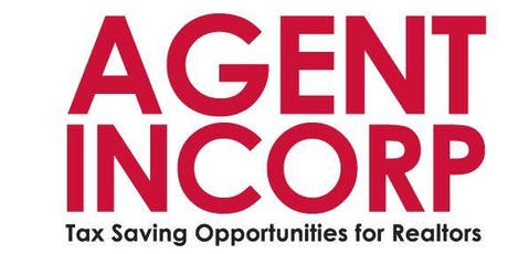 AGENT INCORP - Tax Saving Opportunities for Realtors tickets