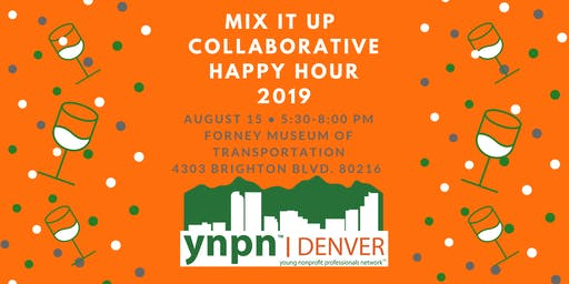 2019 Mix It Up: Collaborative Happy Hour - Table Registration