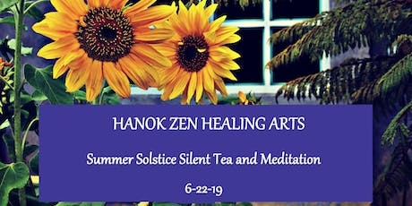 June Silent Tea & Meditation tickets