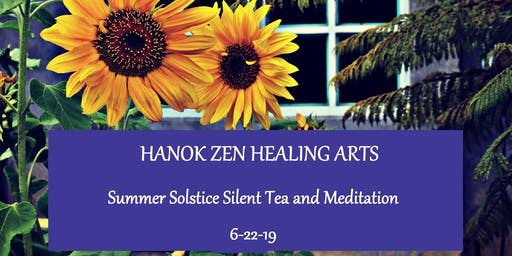 June Silent Tea & Meditation