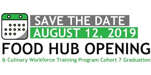 NMEP Food Hub Opening & Culinary Workforce Training Program Graduation