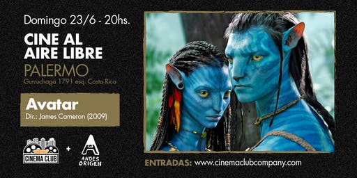 Cine al Aire Libre: AVATAR (2009) - Domingo 23/6