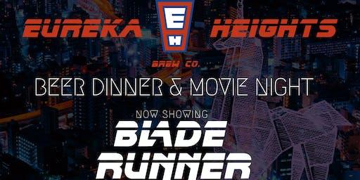 Blade Runner Beer Dinner and Movie