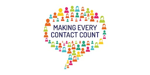Making Every Contact Count (MECC) - 16th July, Tiverton