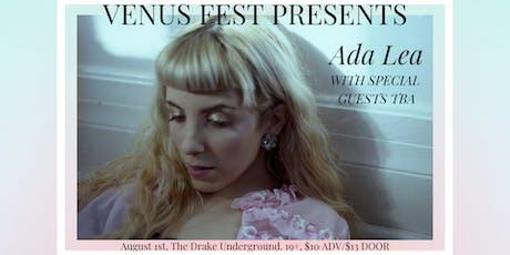 Venus Fest presents Ada Lea tickets