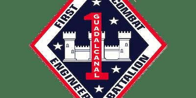 1st Combat Engineer Battalion USMC Ball - Charlie Co