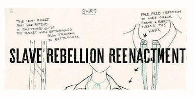 Slave Rebellion Reenactment Beginners Sewing Machine Workshop