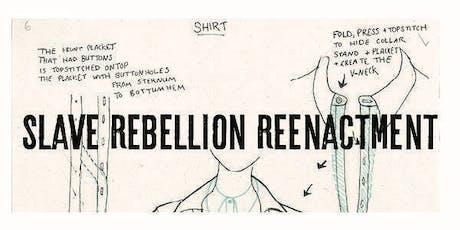 Slave Rebellion Reenactment Beginners Sewing Machine Workshop tickets