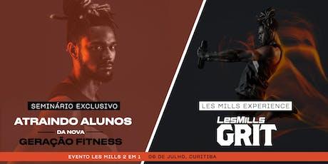 EVENTO 2 EM 1: Seminário + Les Mills EXPERIENCE - Curitiba ingressos