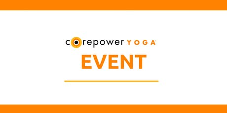 FREE Patio Yoga at Potter's Place presented by CorePower Yoga Naperville tickets