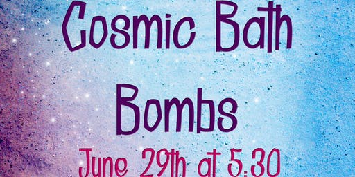 Cosmic Bath Bombs (ages 18+ years)