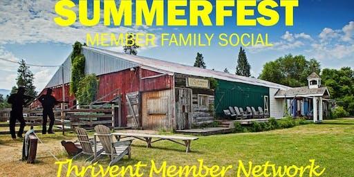 Summerfest - Thrivent Night at Rockin' B Ranch! (Liberty Lake)
