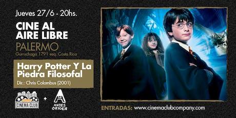 Cine al Aire Libre: HARRY POTTER Y LA PIEDRA FILOSOFAL (2001) - Jueves 27/6 entradas