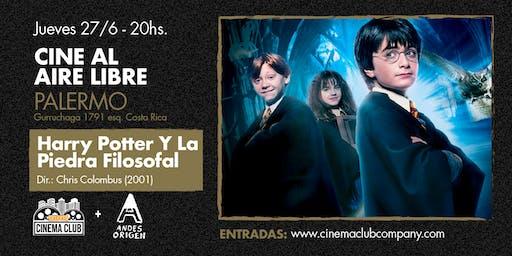Cine al Aire Libre: HARRY POTTER Y LA PIEDRA FILOSOFAL (2001) - Jueves 27/6