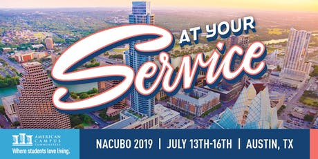 Please Join ACC for NACUBO 2019! tickets