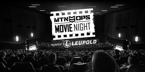 MTN OPS® Movie Night Presented By Leupold Optics®—Portland, OR
