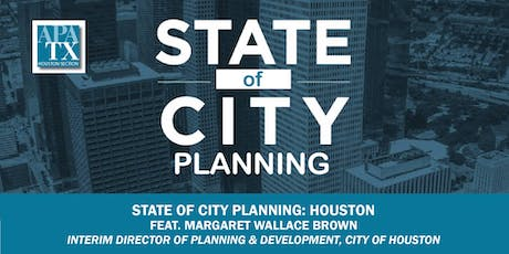 State of City Planning: Houston  tickets