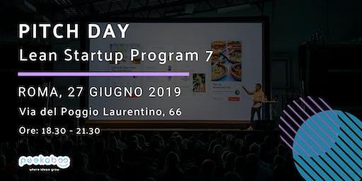 Pitch Day Lean Startup Program 7 Roma - Peekaboo
