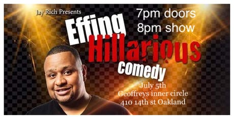 J.Richardson presents EFFING HILARIOUS tickets