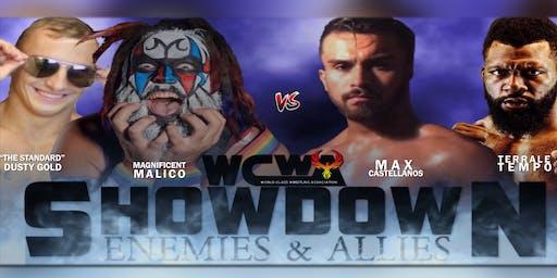 WCWA SHOWDOWN : Enemies & Allies