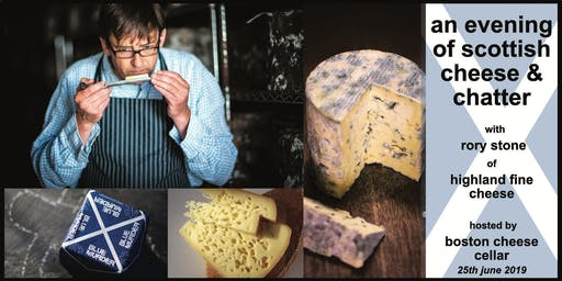 An Evening of Scottish Cheese & Chatter, with Highland Fine Cheese