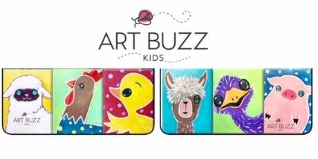 Wine & Design - Art Buzz Kids Painting in the Park Series - August 10 tickets