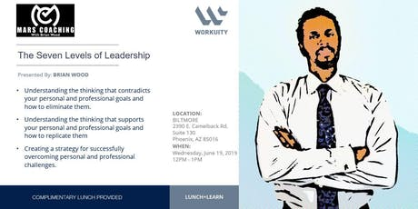 The Seven Levels of Leadership tickets