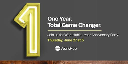 WorkHub 1 Year Anniversary Party