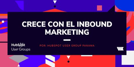 CRECE CON EL INBOUND MARKETING tickets