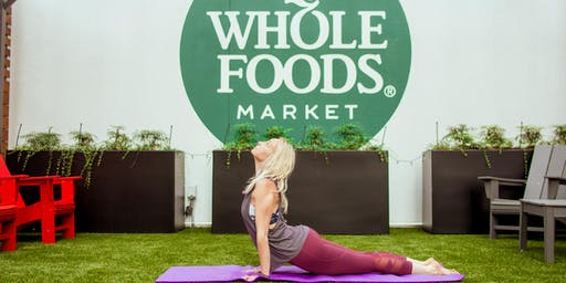 Yoga on the Roof at Whole Foods!