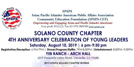 APAPA-SOC 4th Anniversary Celebration of Young Leaders tickets