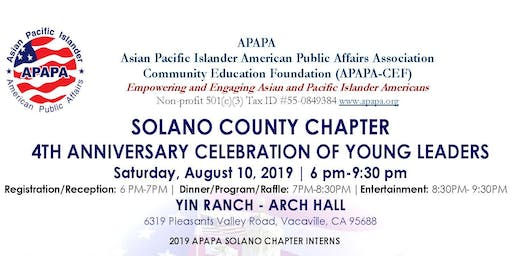 APAPA-SOC 4th Anniversary Celebration of Young Leaders