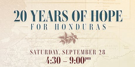 20 Years of Hope for Honduras 2019 tickets